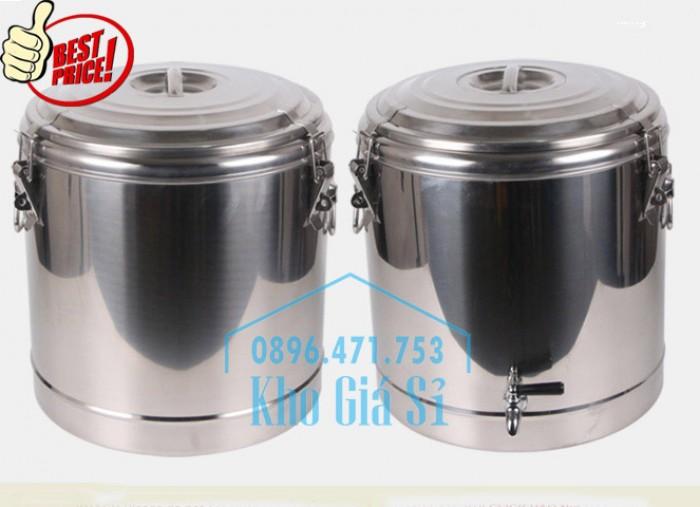 Phân phối sỉ và lẽ thùng inox giữ nhiệt - thùng inox cách nhiệt - 1
