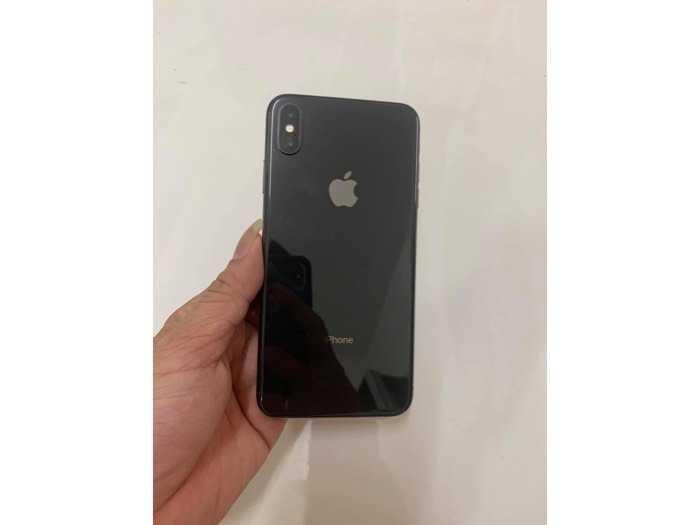 Iphone Xs Max 512gb đen lock keng còn bh lâu1