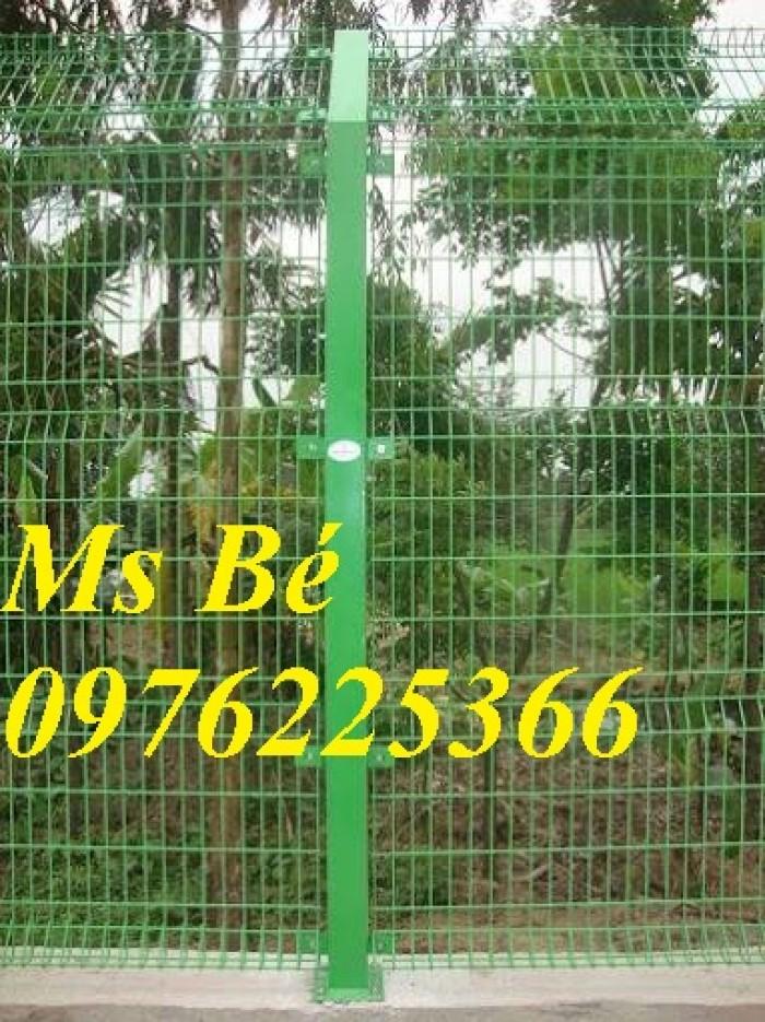 Hàng rào lưới thép, hàng rào sơn tĩnh điện gập hai đầu8