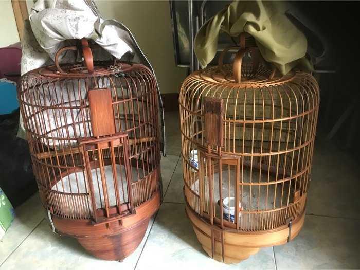 bán 2 lồng chim cao 65 ngang 41cm0