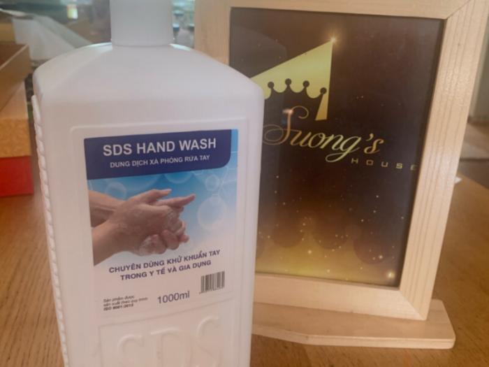Nước rửa tay, nước rửa tay y tế kháng khuẩn diệt trừ Virus 1000ml