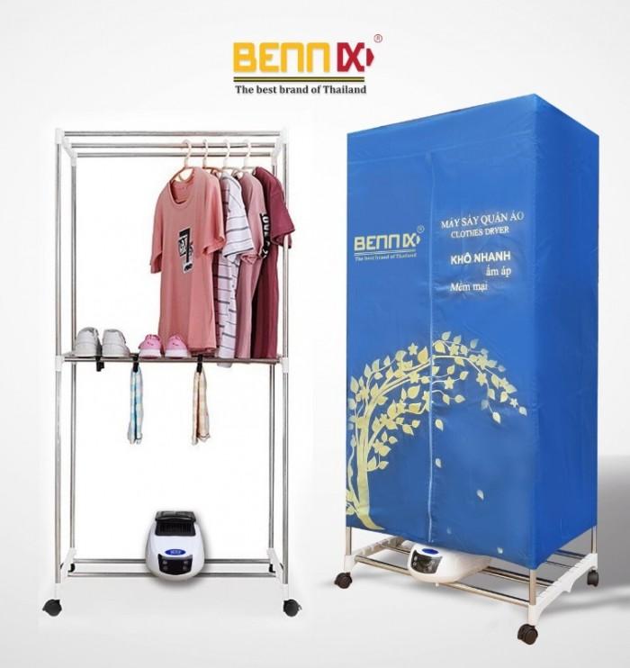 Máy sấy quần áo Bennix BN-0186  hàng chính hãng bảo hành 18 tháng0