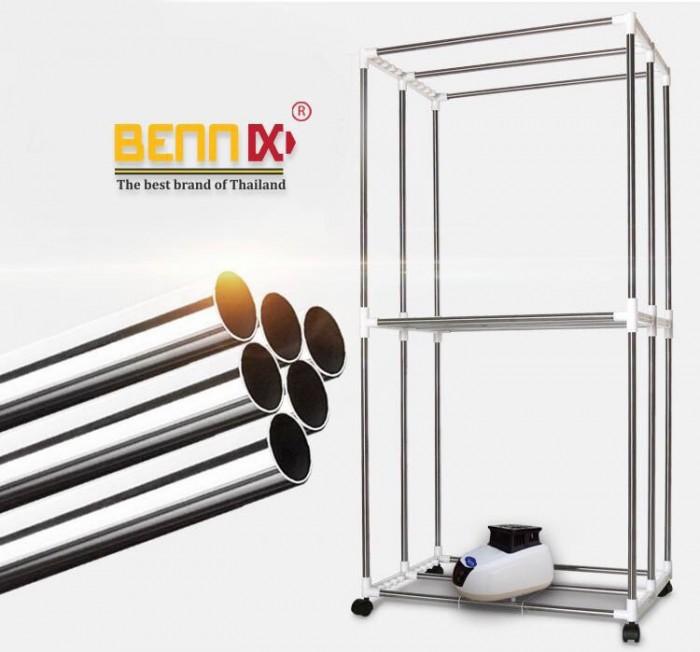Máy sấy quần áo Bennix BN-0186  hàng chính hãng bảo hành 18 tháng2