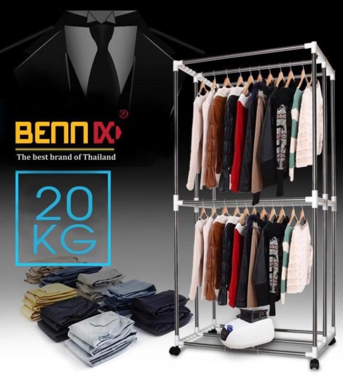 Máy sấy quần áo Bennix BN-0186  hàng chính hãng bảo hành 18 tháng5