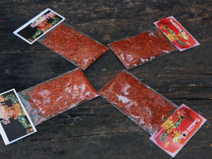 Saffron Flower Balinese Spice Hoa nghệ tây gia vị  cung cấp sỉ lẻ toàn quốc 9