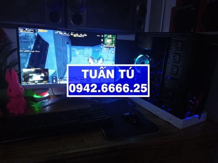 H310 GIGABYTE, i5-9400, R8G, Màn 27 LED, GTX1050Ti.1