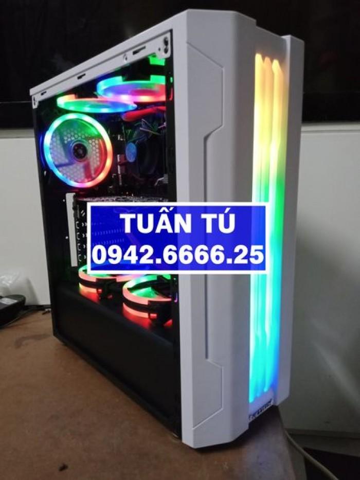 H310 GIGABYTE, i5-9400, R8G, Màn 27 LED, GTX1050Ti.2