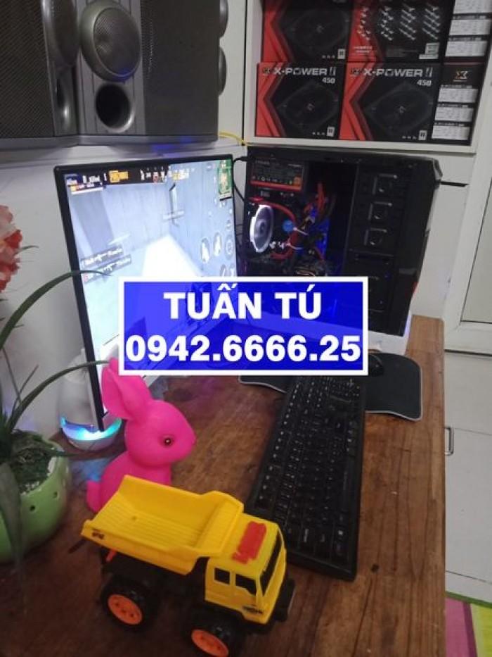 Đầu năm bán máy tính cá nhân với giá yêu thương hàng chính hãng cấu hình cao H81 GIGABYTE, i3-4130, R8G, Màn 27 LED, GTX1050Ti.1