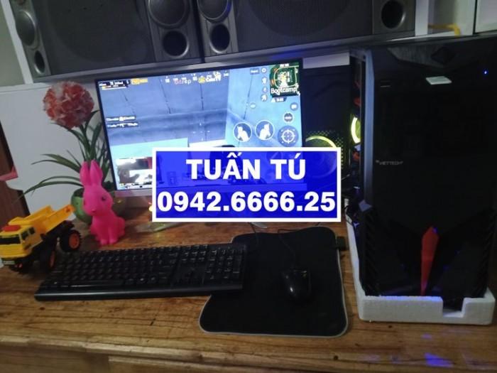 Đầu năm bán máy tính cá nhân với giá yêu thương hàng chính hãng cấu hình cao H81 GIGABYTE, i3-4130, R8G, Màn 27 LED, GTX1050Ti.3