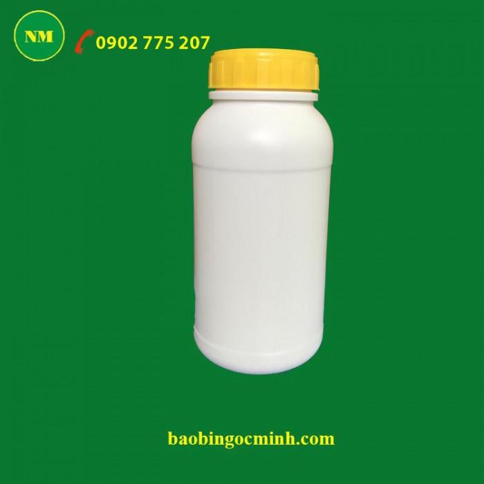Chai nhựa 500ml đựng phân bón, hóa chất, thuốc trừ sâu2