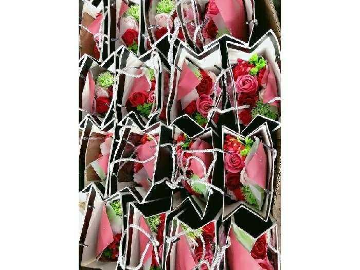 Hoa Hồng Sáp Flower Soap (đỏ)1