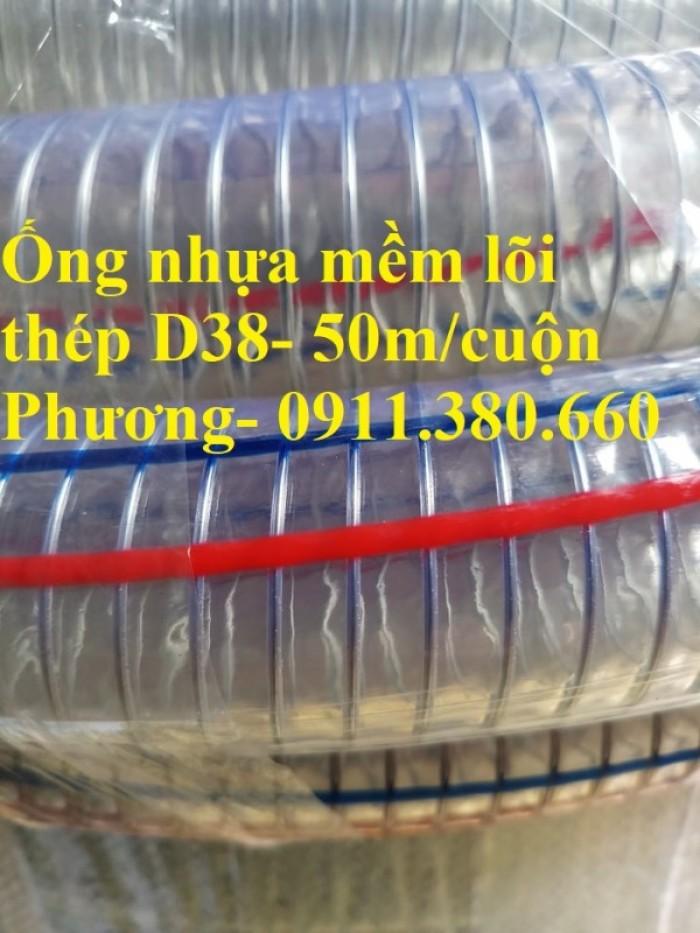Ống nhựa mềm lõi thép D38- 50m/cuộn- hàng có sẵn tại kho4