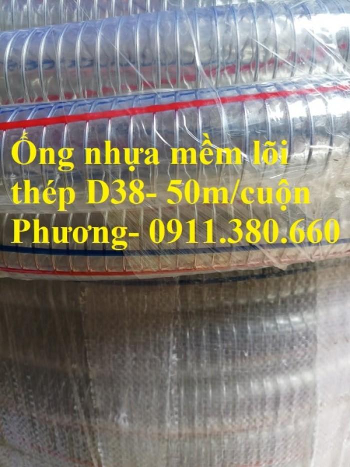 Ống nhựa mềm lõi thép D38- 50m/cuộn- hàng có sẵn tại kho6