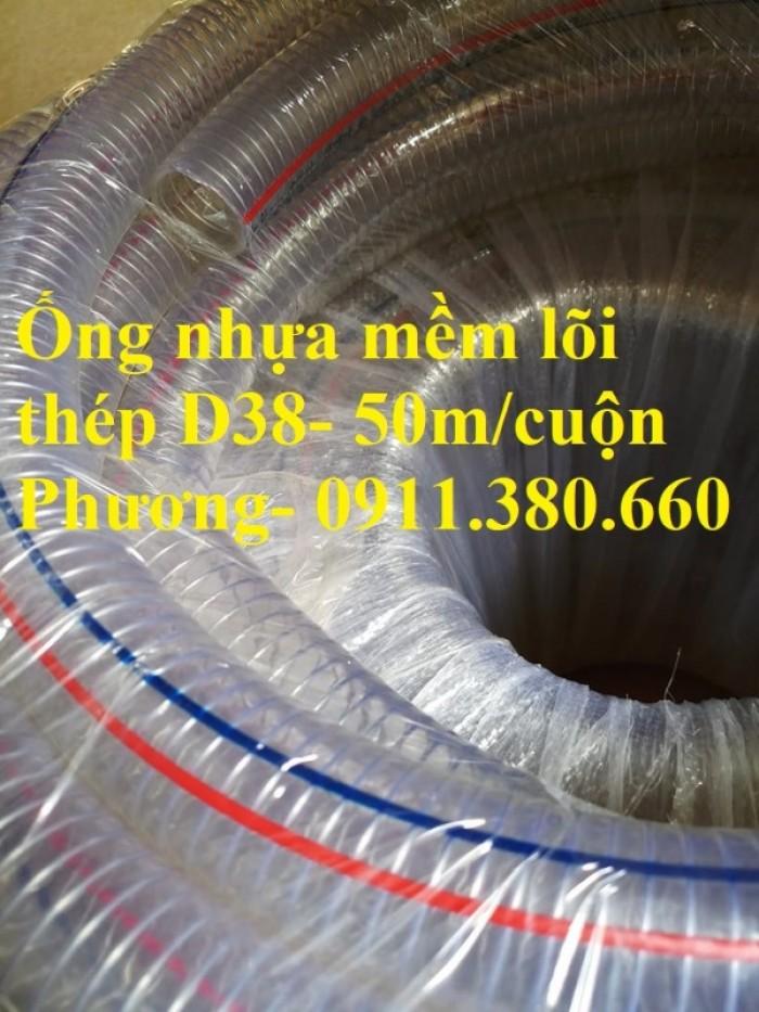 Ống nhựa mềm lõi thép D38- 50m/cuộn- hàng có sẵn tại kho5