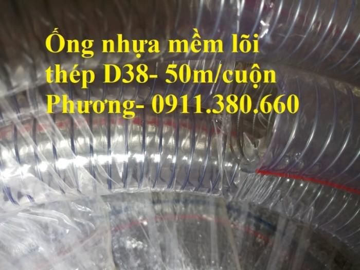 Ống nhựa mềm lõi thép D38- 50m/cuộn- hàng có sẵn tại kho1