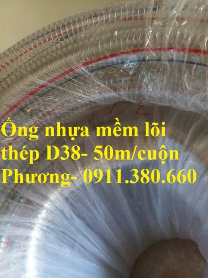 Ống nhựa mềm lõi thép D38- 50m/cuộn- hàng có sẵn tại kho3
