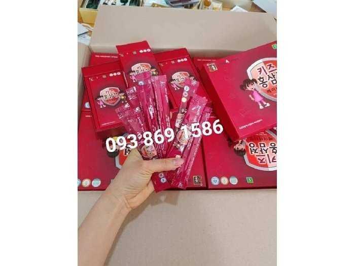 hồng sâm Hàn Quốc cho bé biếng ăn0