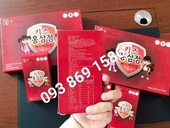 hồng sâm Hàn Quốc cho bé biếng ăn1