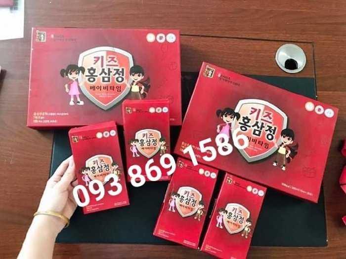 hồng sâm Hàn Quốc cho bé biếng ăn2
