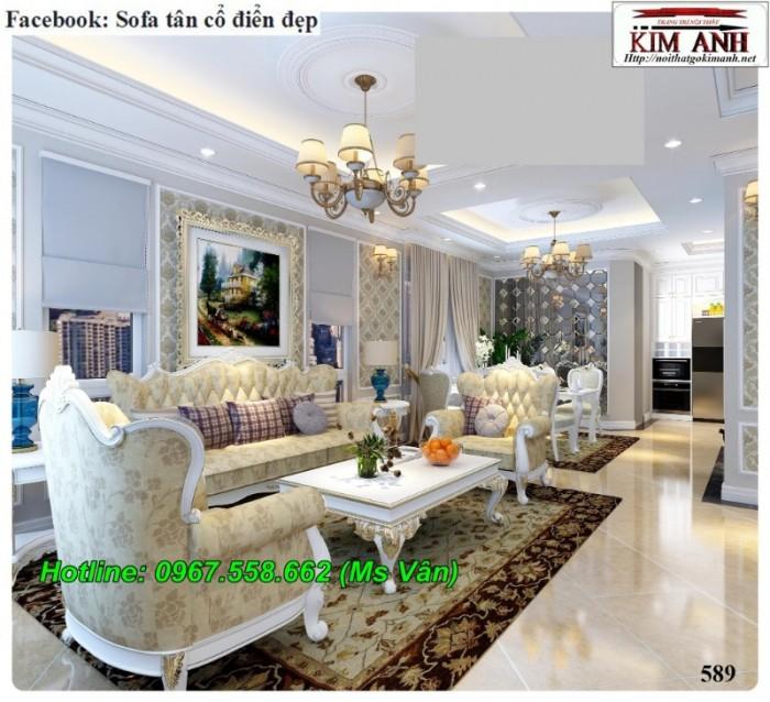 sofa tân cổ điển giá rẻ q2 q7 q96