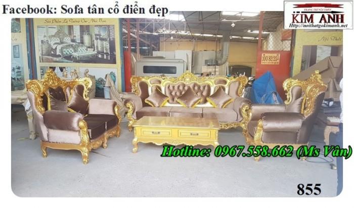 bộ bàn ghế gỗ tân cổ điển Cần Thơ Bạc Liêu9