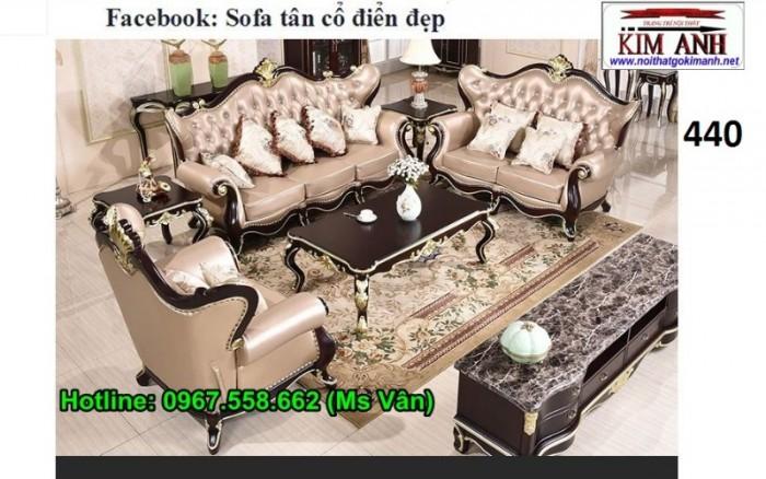 những mẫu bàn ghế sofa tân cổ điển đẹp Đà Lạt Nha Trang12
