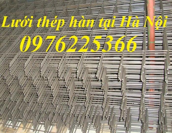Lưới thép hàn xây dựng, lưới đổ sàn bê tông