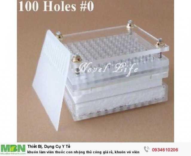 khuôn làm viên thuốc con nhộng thủ công giá rẻ, khuôn vô viên nang rỗng 100v/400v0