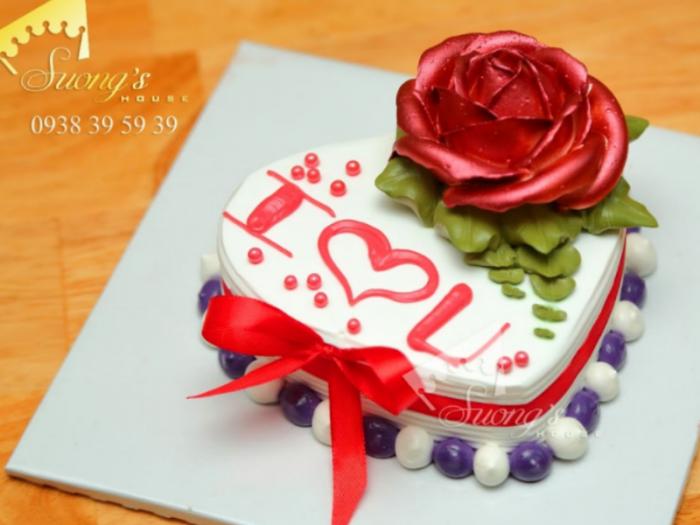 Quà tặng Valentine ý nghĩa với Bánh Kem Suong's House 2