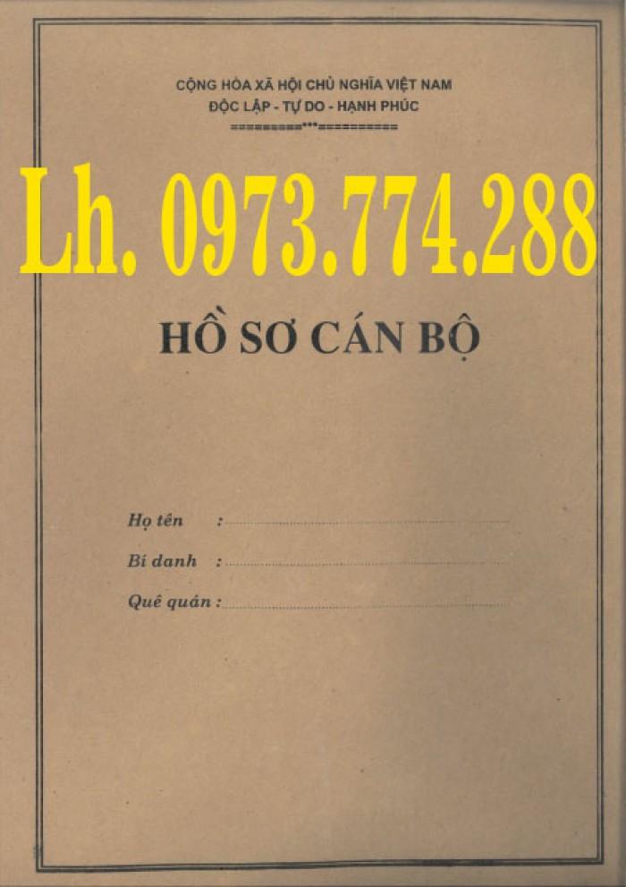 Bán vỏ hồ sơ viên chức29
