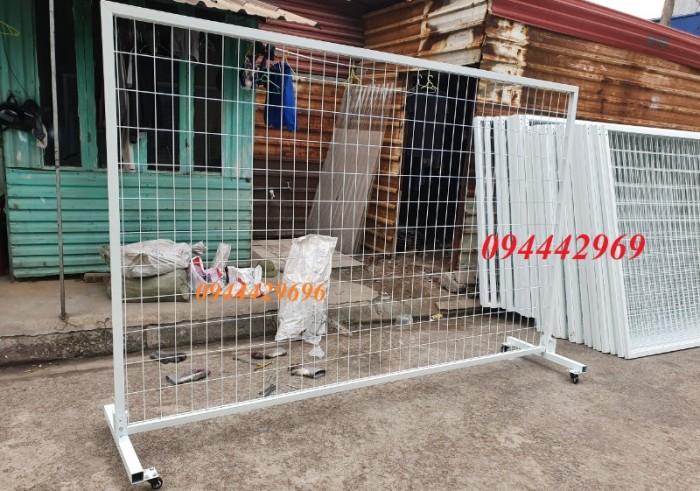 Hàng rào lưới thép hàn D5 a 50x 100,50x150,50x200 mạ kẽm sơn tĩnh điện2
