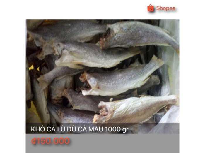 Khô cá lù đù Cà Mau 1000 gr0