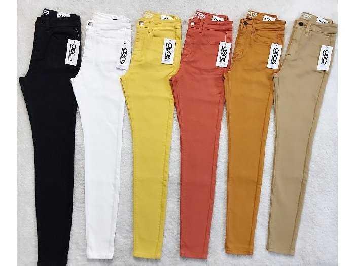 Quần jean nữ xuất khẩu màu1