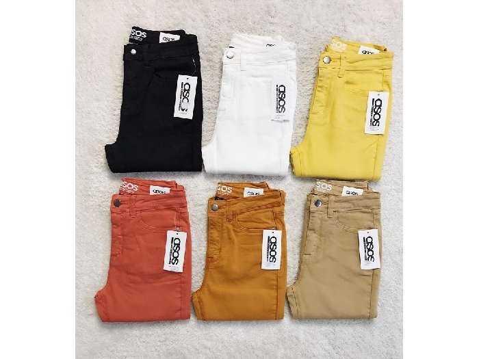 Quần jean nữ xuất khẩu màu2