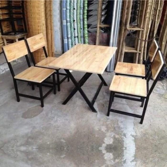Bàn ghế bốn chân quán nhậu  làm tại xưởng sản xuất ANH KHOA 6587650