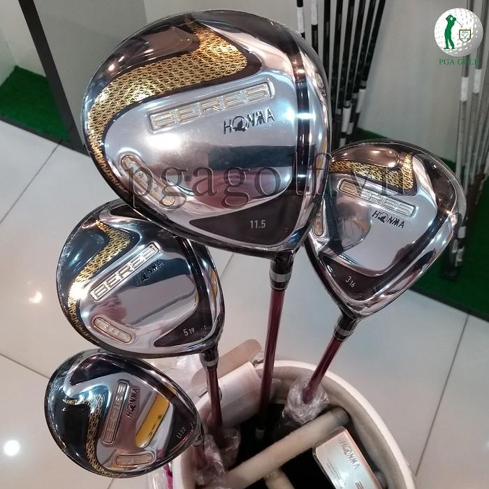 Bộ Gậy Golf Honma New Beres 07 3 sao 2020 Ladies