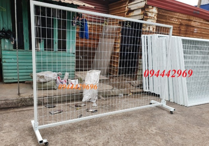 Hàng rào lưới thép hàn D5 a 50x200 mạ kẽm sơn tĩnh5