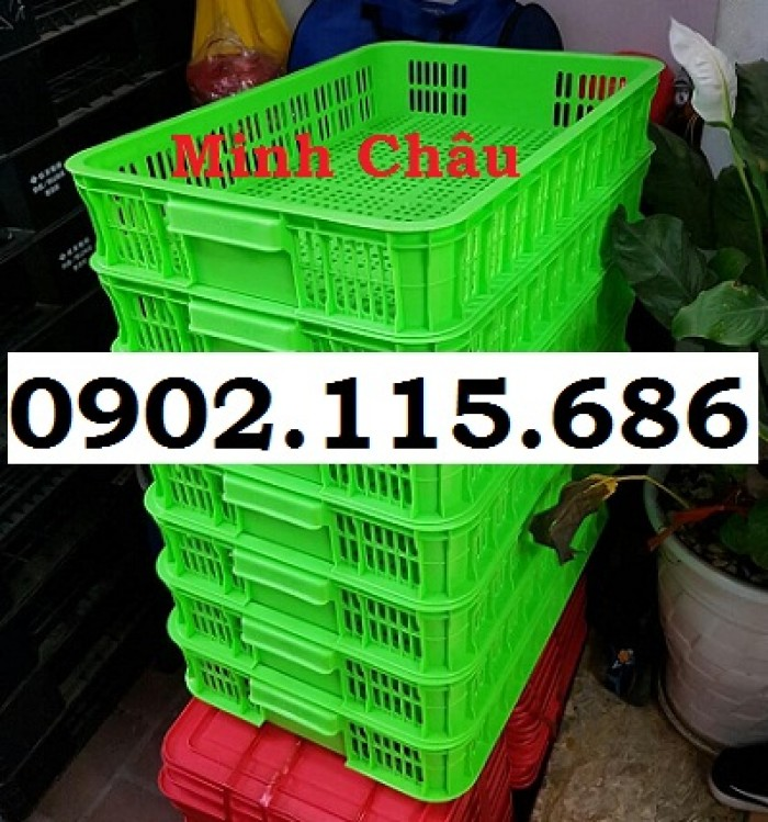 Rổ đựng trái cây, rổ đựng hải sản, rổ trong siêu thị, rổ đựng rau củ, sọt đựng hàng quần áo, sọt nhựa công nghiệp,6