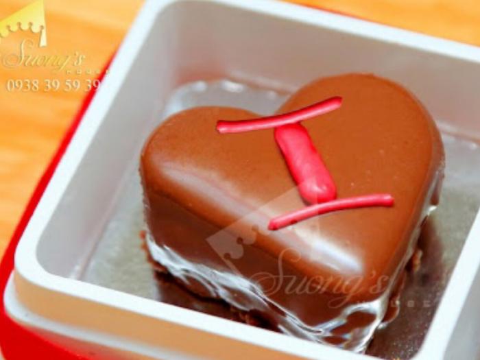 Hộp quà Valentine Socola I Love You  Viên Socola in hình chữ I Love You 2