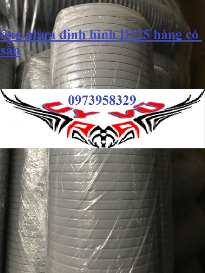 Bán ống nhựa sếp định hình / ống nhựa xoắn định hình / ống gió xoắn định hình D200, D150,D125 , D100, D90, D75,