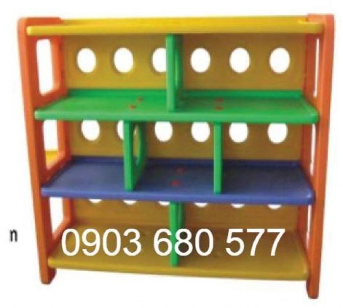 Chuyên bán kệ nhựa trẻ em dành cho trường lớp mầm non, gia đình4