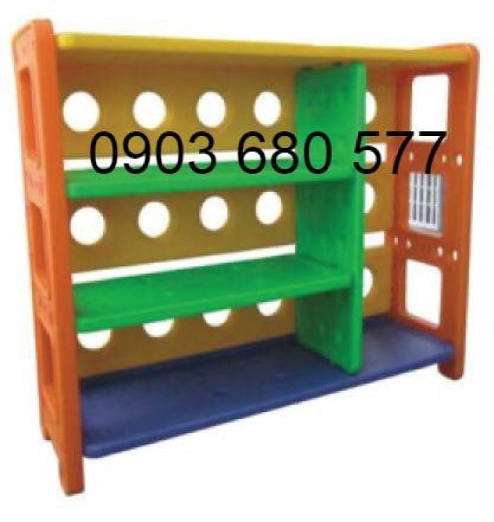 Chuyên bán kệ nhựa trẻ em dành cho trường lớp mầm non, gia đình12