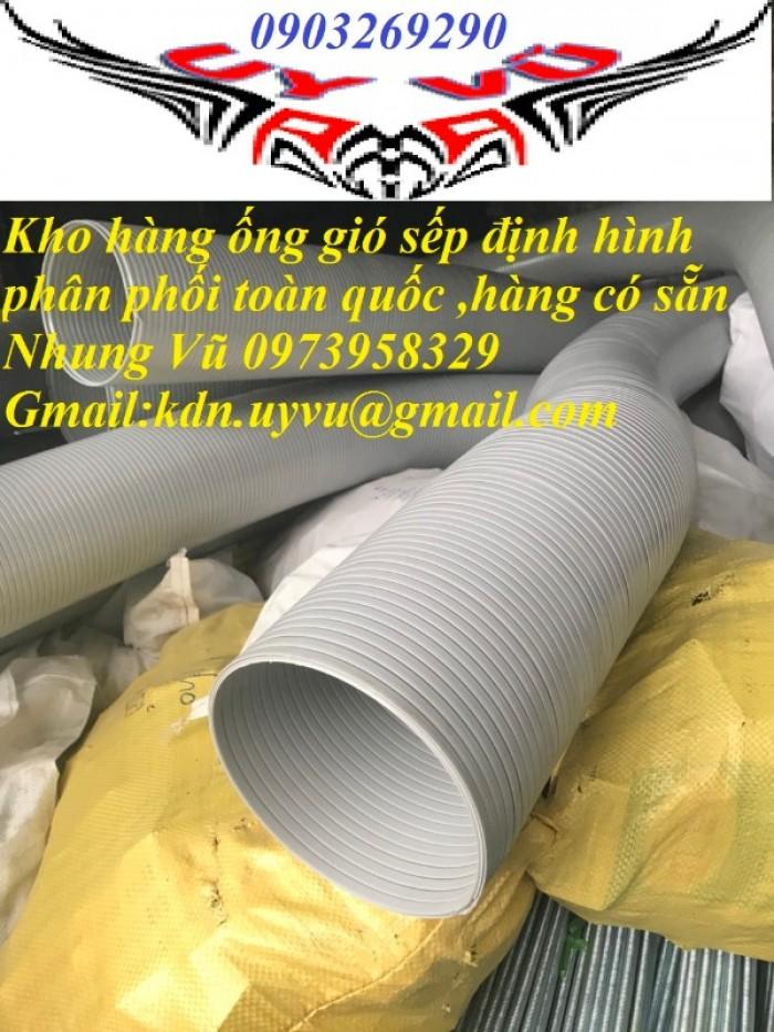Phân phối ống nhựa định hình - ống gió xoắn định hình - ống nhựa xếp hệ thống điều hòa D200, D150,2