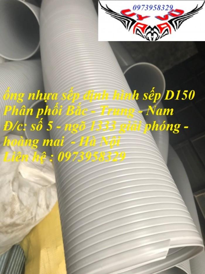 Phân phối ống nhựa định hình - ống gió xoắn định hình - ống nhựa xếp hệ thống điều hòa D200, D150,4