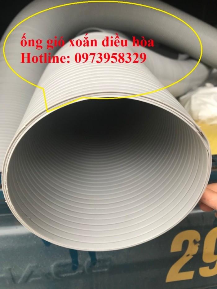 Phân phối ống nhựa định hình - ống gió xoắn định hình - ống nhựa xếp hệ thống điều hòa D200, D150,11