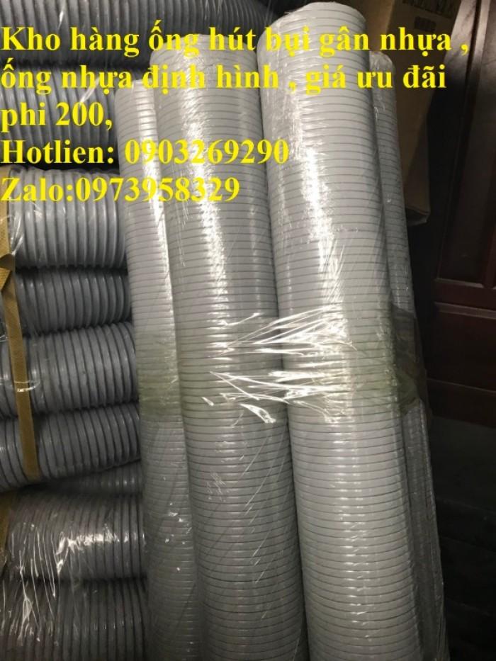 Phân phối ống nhựa định hình - ống gió xoắn định hình - ống nhựa xếp hệ thống điều hòa D200, D150,15
