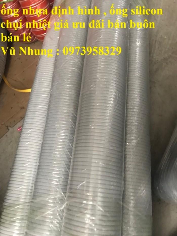 Phân phối ống nhựa định hình - ống gió xoắn định hình - ống nhựa xếp hệ thống điều hòa D200, D150,18
