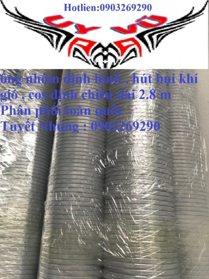 Phân phối ống nhựa định hình - ống gió xoắn định hình - ống nhựa xếp hệ thống điều hòa D200, D150,19