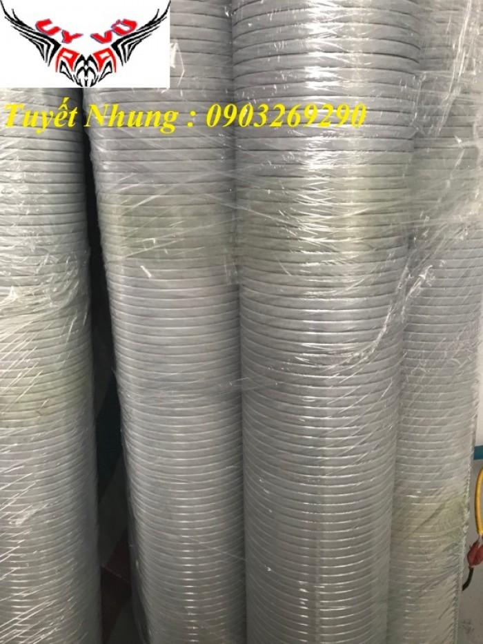 Phân phối ống nhựa định hình - ống gió xoắn định hình - ống nhựa xếp hệ thống điều hòa D200, D150,22