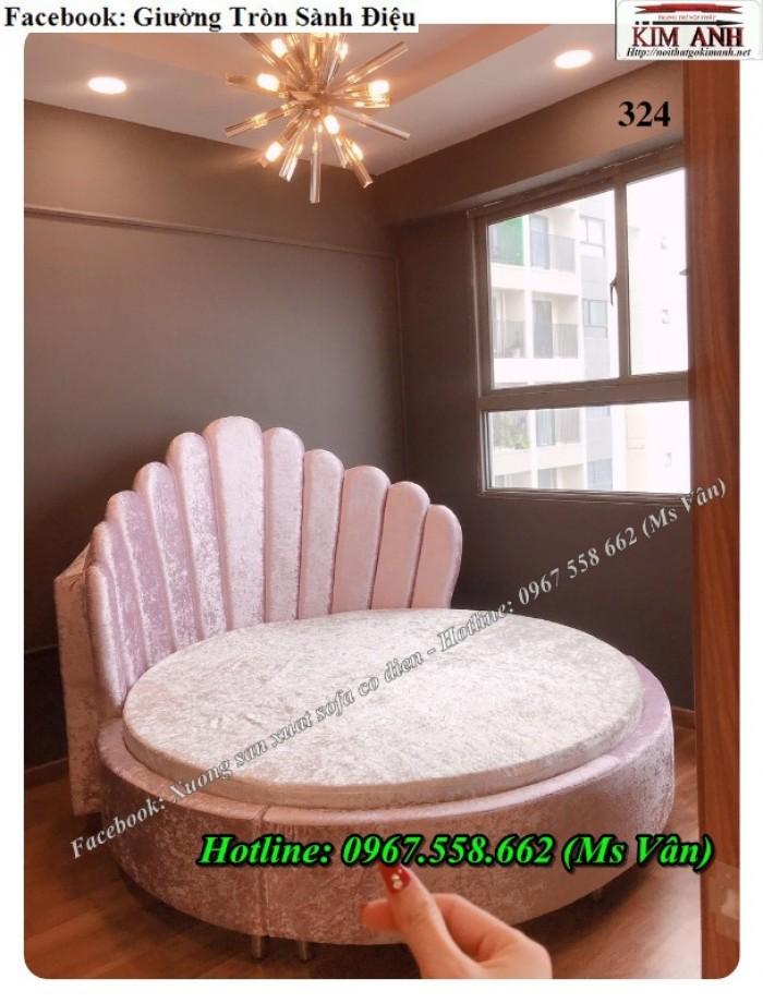 mẫu giường tròn đẹp tphcm0